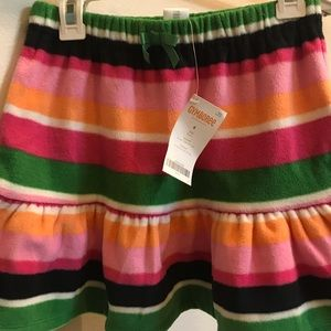 Fleece Gymboree Skirt with Bowed Waistline